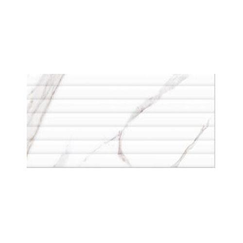 300*600 Vivid White line Decore