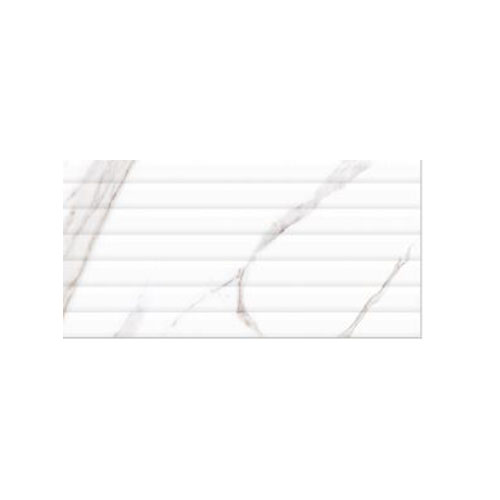 Digital Tile 300*600 Vivid White line Decore