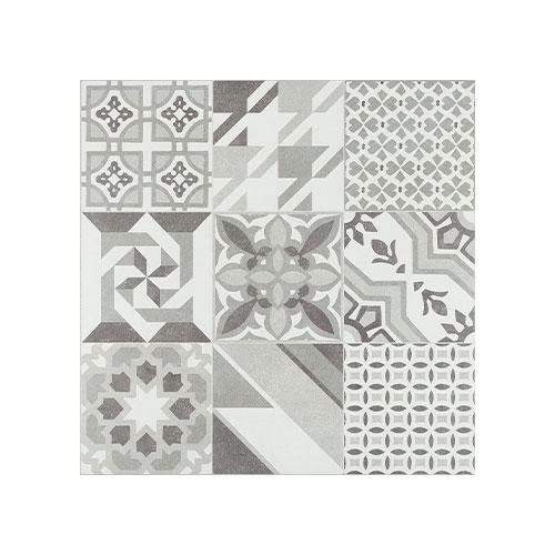 Floor Tile 600*600 Hidra Neutral Gris - STD (4,1.44) Model : Hidra Neutral Gris Color : Black and White Size : 600*600 Pcs : (4,1.44) Finish : Gloss Suitability : Floor Made : Spain