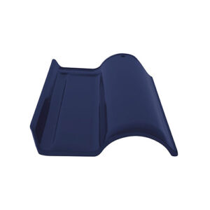 Wave Roof Tile - Threeway Cobalt Blue
