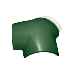 Wave Roof Tile - Threeway Islamic Green